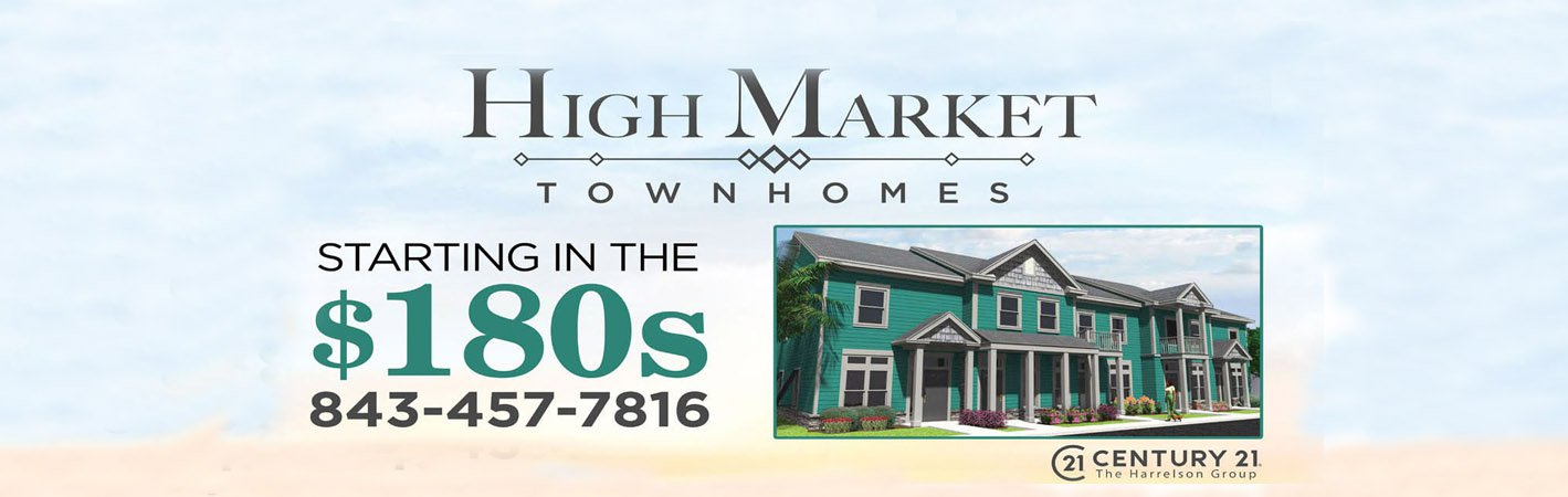 High Market Townhomes in Market Common