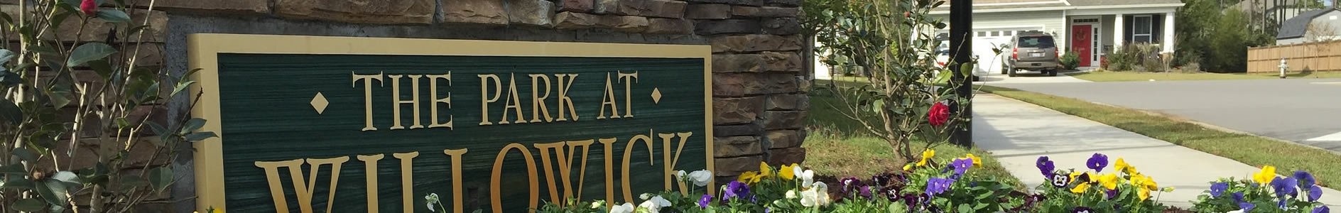 The entrance to The Park at Willowick in Wilmington