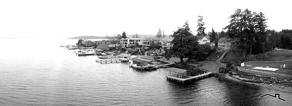 Waterfront Lake Washington homes